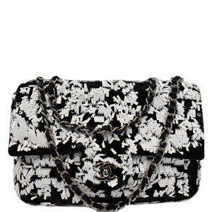 Chanel Classic Flap Medium Sequin Chain Handbag